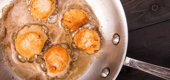 Frozen scallops (IQF)
